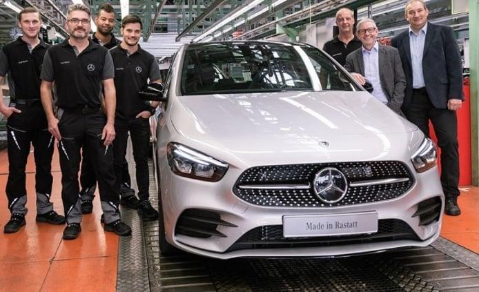 Mercedes Clase B 2019 - producción
