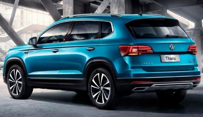 Volkswagen Tharu - posterior