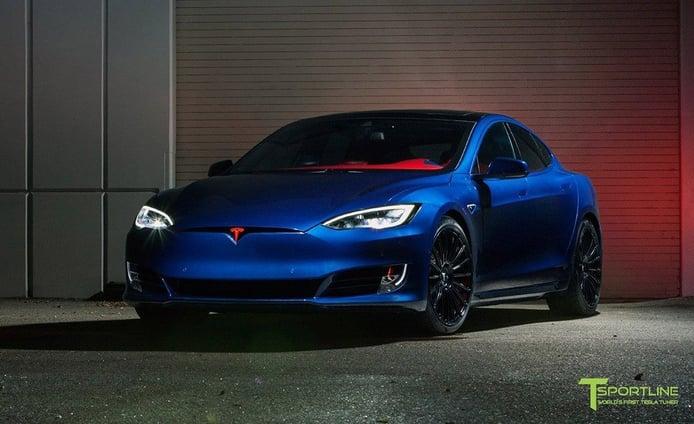 T Sportline convierte al Tesla Model S en el coche de Superman