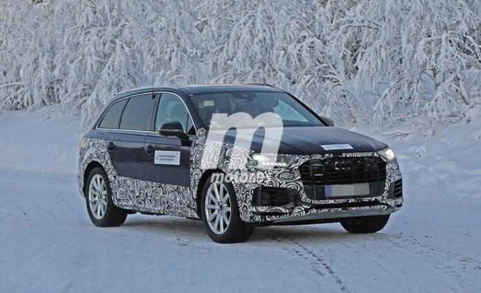 Audi Q7 2020 - foto espía