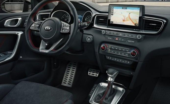 Kia Ceed GT - interior