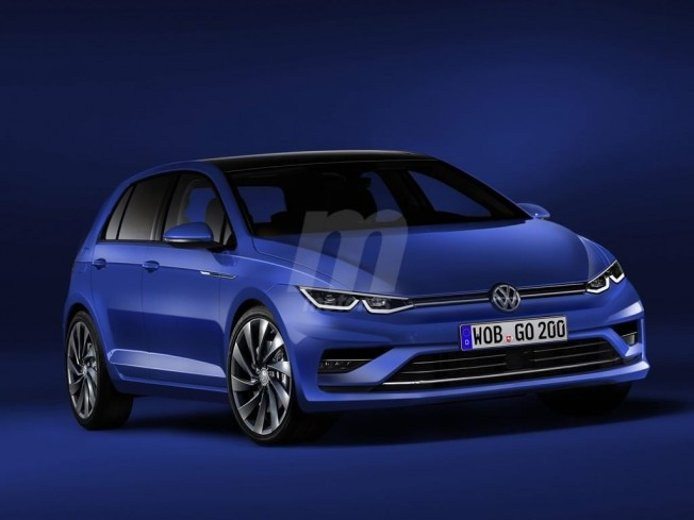 Volkswagen Golf 2019 - recreación