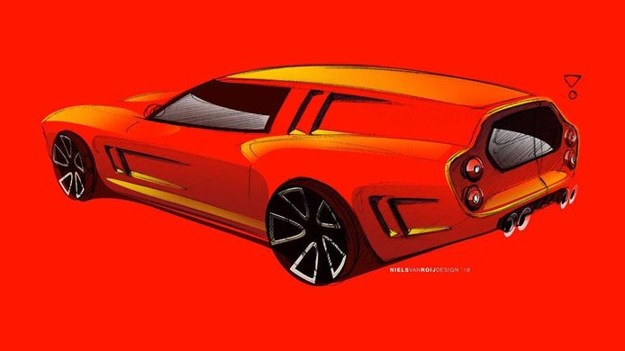 Llega una versión moderna del Ferrari 250 GT SWB Breadvan