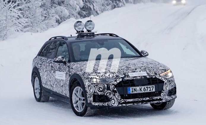 Audi A4 allroad quattro 2020 - foto espía