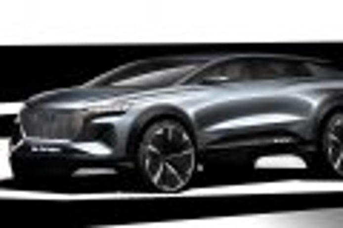 Audi muestra el nuevo Q4 e-tron concept con unos bocetos iniciales