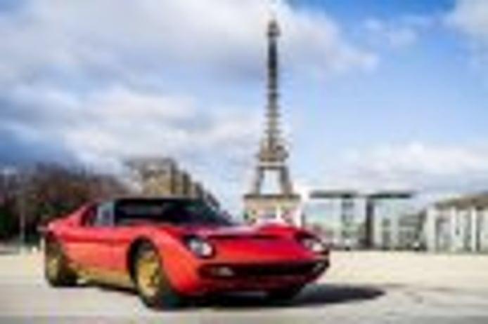 Lamborghini Polo Storico restaura el Lamborghini Miura SV de Jean Todt