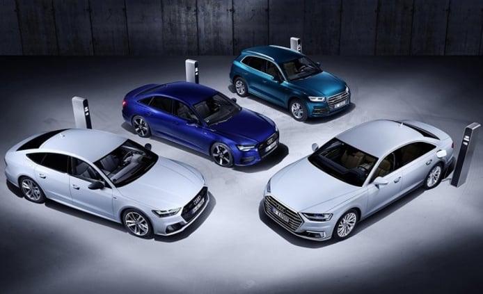 Audi híbridos enchufables