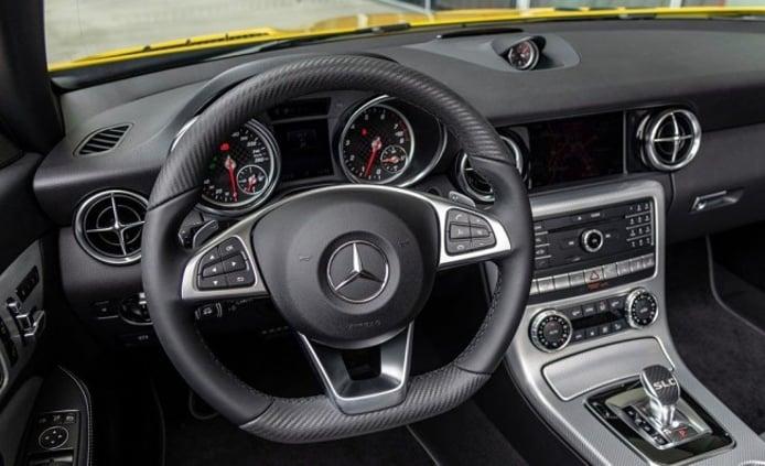 Mercedes SLC Final Edition - interior