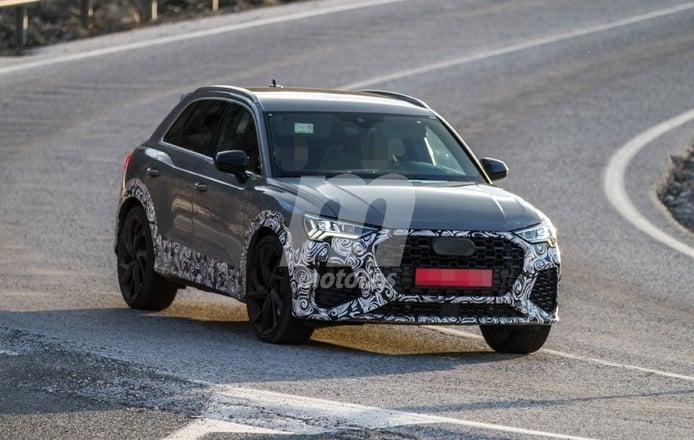 El desarrollo del nuevo Audi RS Q3 se traslada al sur de Europa