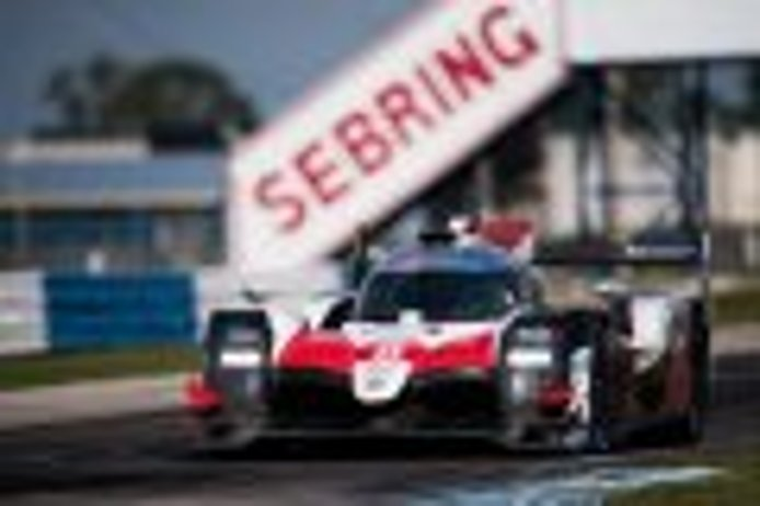 Nakajima coloca al Toyota #8 al frente del FP1 en Sebring