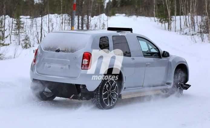 Alpine SUV - foto espía posterior