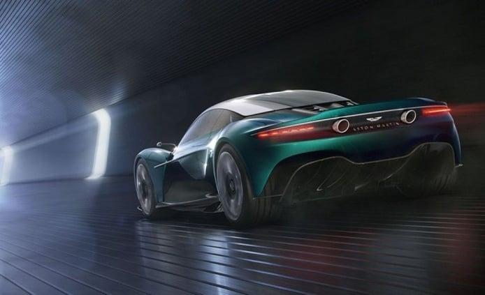 Aston Martin Vanquish Vision Concept - posterior