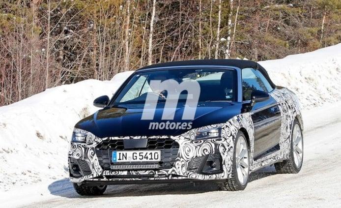 Audi A5 Cabrio 2020 - foto espía