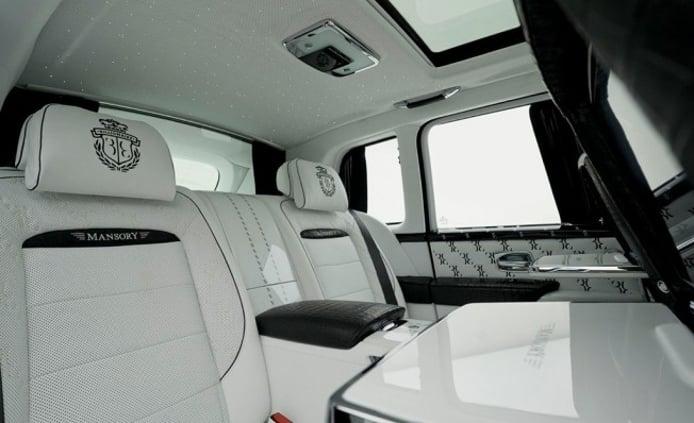 Rolls-Royce Cullinan Billionaire por Mansory
