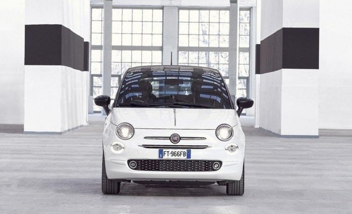 Fiat 500 120th - frontal