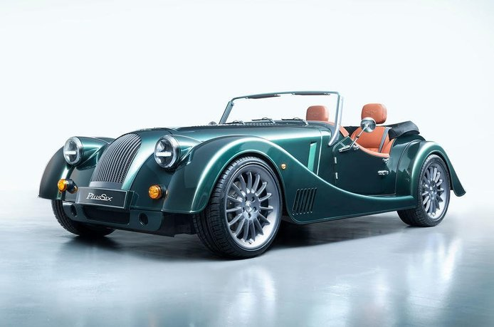 Morgan Plus Six: Morgan abandona su viejo chasis de madera y los V8