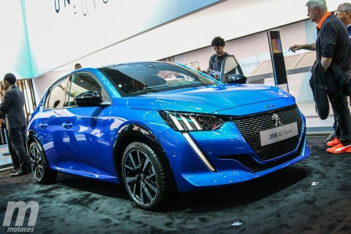 El nuevo Peugeot 208 en vídeo desde el Salón de Ginebra 2019