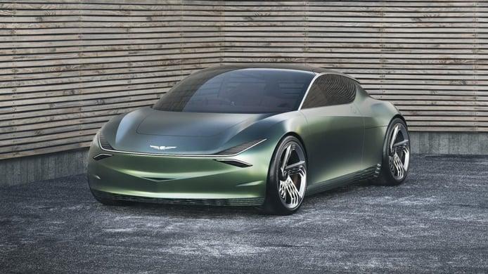 Genesis Mint Concept, un anticipo eléctrico y deportivo Premium en forma de utilitario