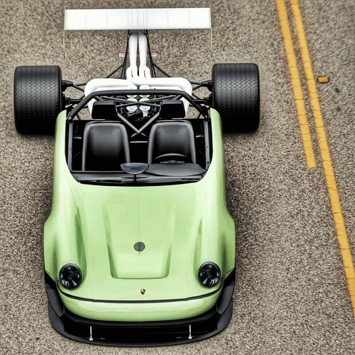 Half11: mitad Porsche 911, mitad Fórmula 1, 100% locura