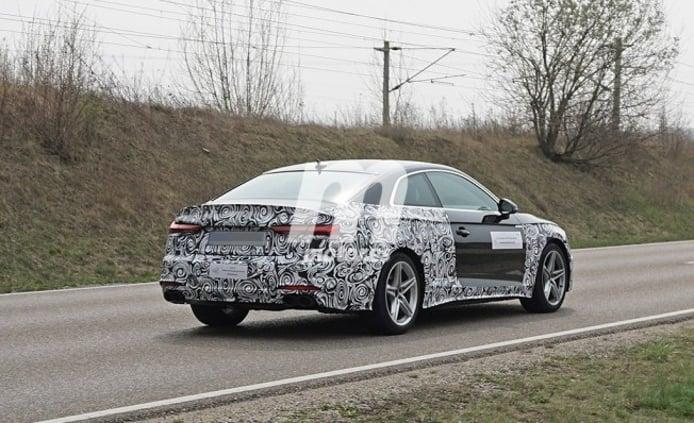 Audi S5 Coupé 2020 - foto espía posterior