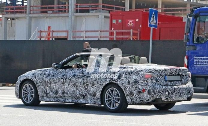 BMW Serie 4 Cabrio 2020 - foto espía posterior
