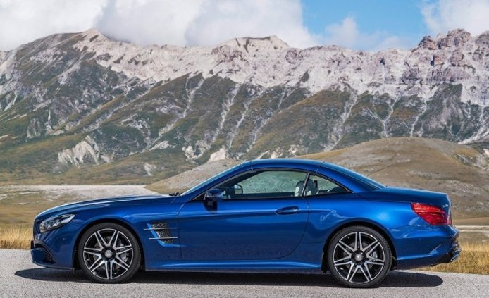 Mercedes SL - lateral