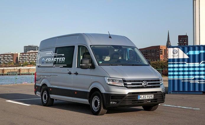El Volkswagen e-Crafter llega a España: la furgoneta eléctrica con 170 km de autonomía
