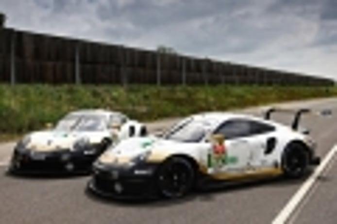 Los Porsche también tendrán en Le Mans su librea especial