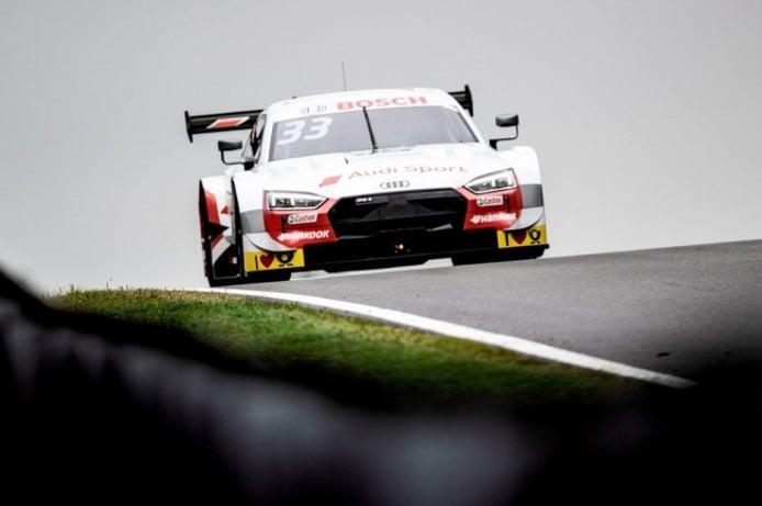 René Rast y Philipp Eng mandan en los libres del DTM en Zolder