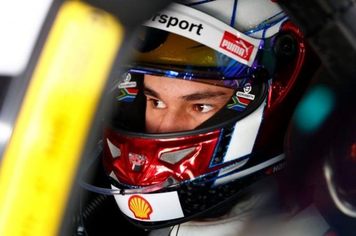 Sheldon Van der Linde logra su primera pole en el DTM
