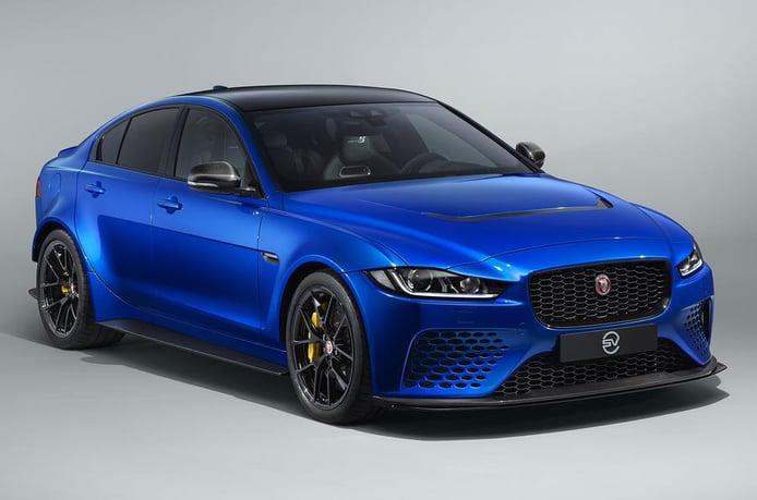 El nuevo Jaguar XE SV Project 8 Touring estrena configuración más civilizada
