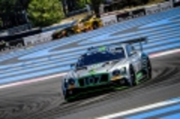 Pole del Bentley #107 en los 1.000 Km. de Paul Ricard