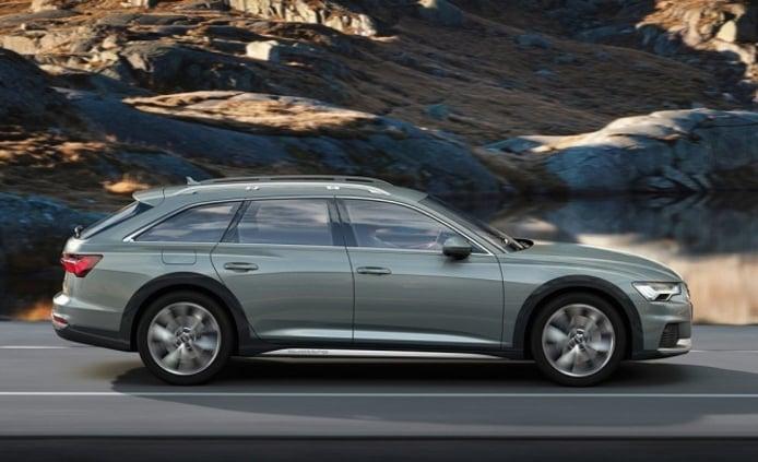 Audi A6 allroad quattro 2019 - lateral