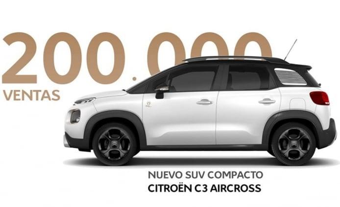 Citroën C3 Aircross - 200.000 unidades vendidas