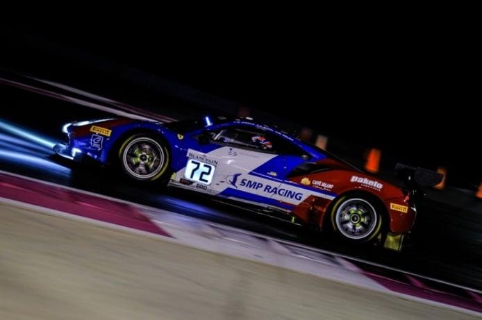 Miguel Molina y el Ferrari #72 mandan en la Endurance Cup