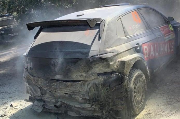 Volkswagen ya sabe por qué se incendian sus Polo GTI R5