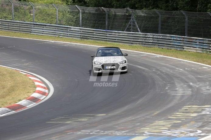 El exclusivo ABT Audi RS5-R prepara una actualización en el circuito de Nürburgring