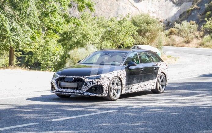 El nuevo Audi RS 4 Avant 2020 se deja ver por carreteras españolas