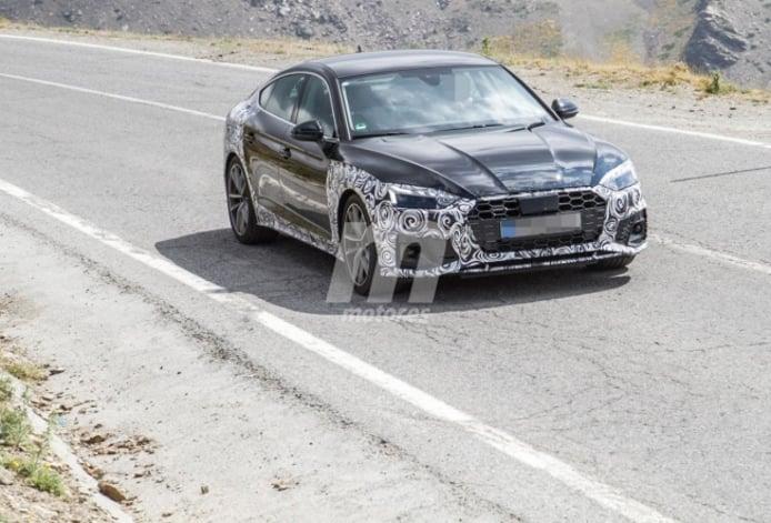 Audi A5 Sportback 2020 - foto espía frontal