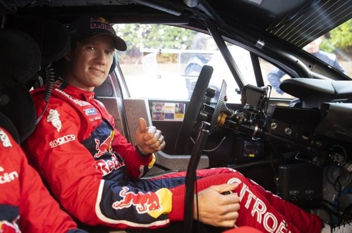 Sébastien Ogier, principal embajador del WRC en Goodwood
