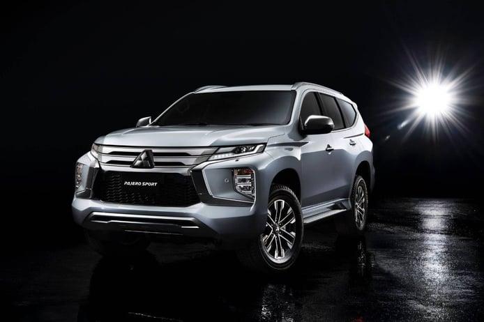 El renovado Mitsubishi Montero Sport 2020 presentado en Tailandia