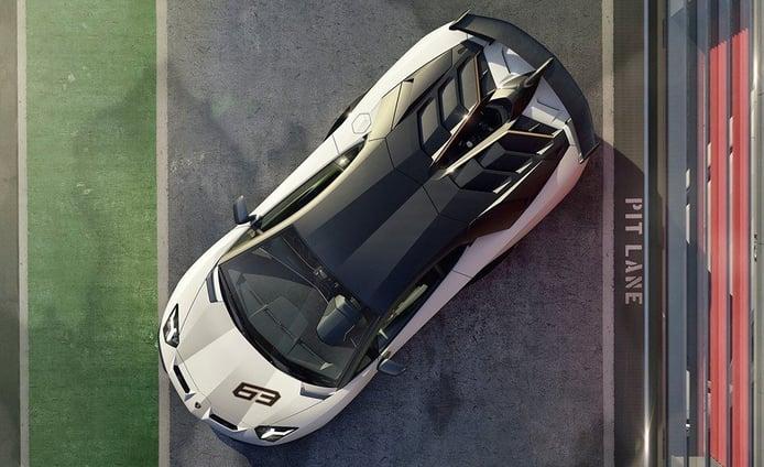 Lamborghini va a presentar en Monterey un nuevo Aventador SVJ 63 Edition