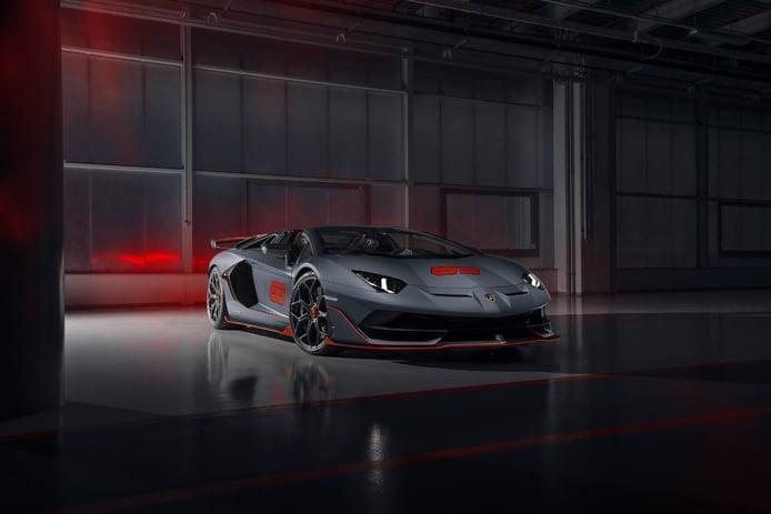 Lamborghini presenta en Monterey el nuevo Aventador SVJ 63 Roadster