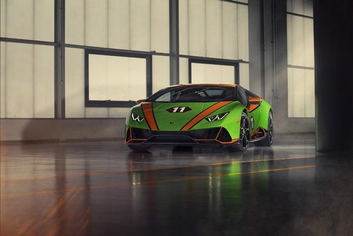 El nuevo Lamborghini Huracán EVO GT Celebration conmemora las victorias de la marca