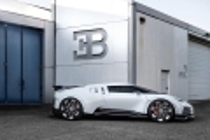 El Bugatti Centodieci es el modelo más potente de la historia de la marca