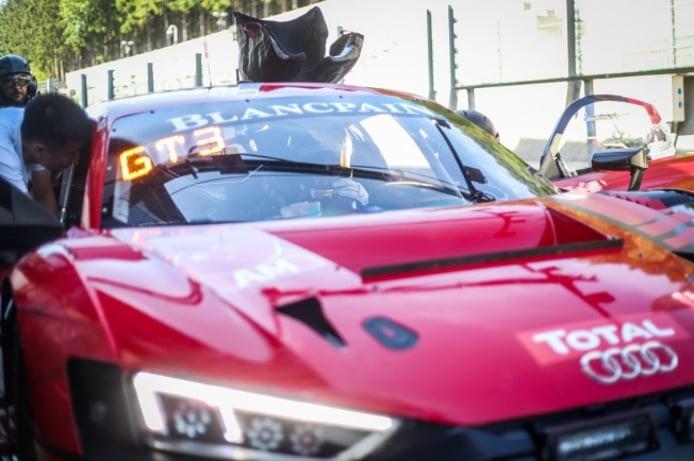 El Audi R8 LM3 GT3 todavía tiene mucha tela que cortar