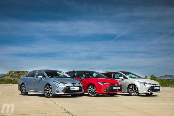 España - Julio 2019: El Toyota Corolla llama a las puertas del Top 10
