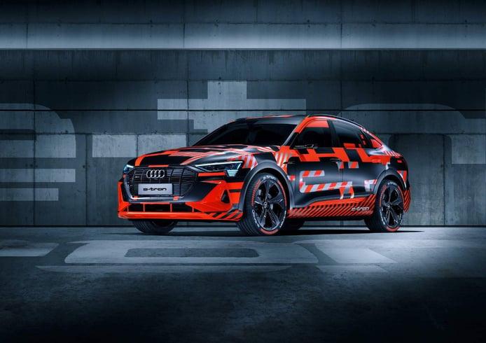 Audi presentará el nuevo e-tron Sportback en noviembre