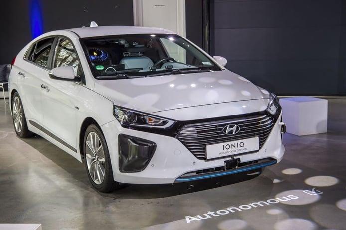 Hyundai avanza en conducción autónoma con prototipos basados en el IONIQ