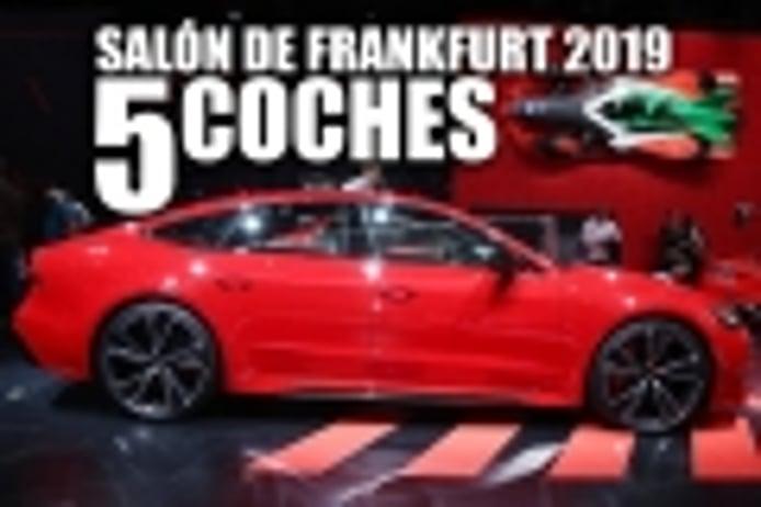 Los 5 mejores coches del Salón de Frankfurt 2019